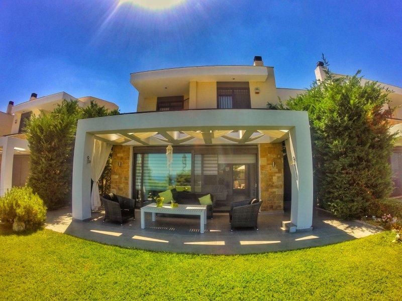 The villa !