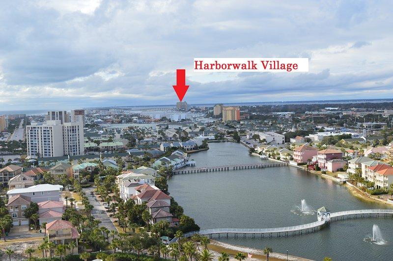 Pelican Beach is just a few miles away from Harborwalk Village!