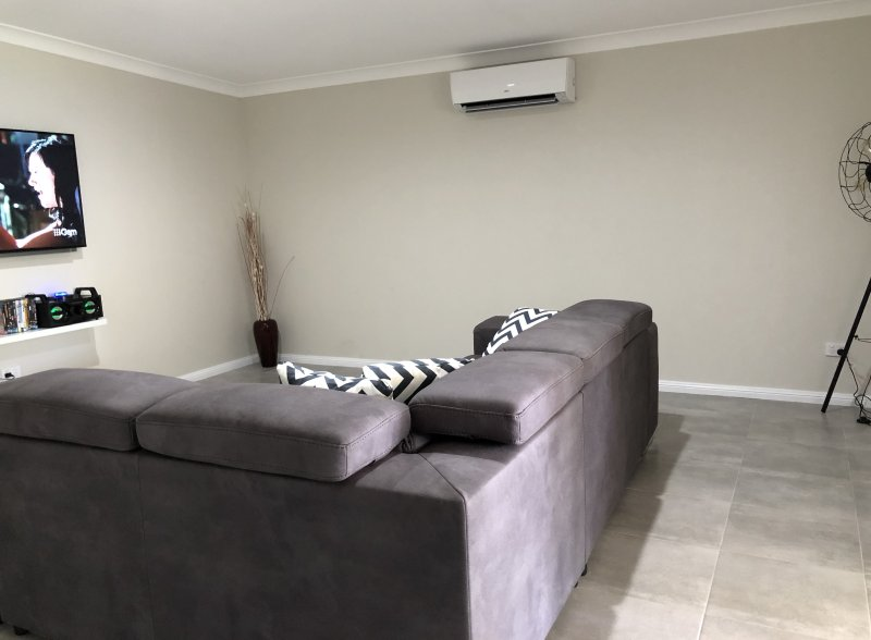 TV Room with sofa bed