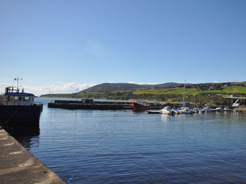 Walking distance to Helmsdale Harbour