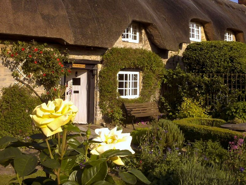 Chocolate box thatched cottage
