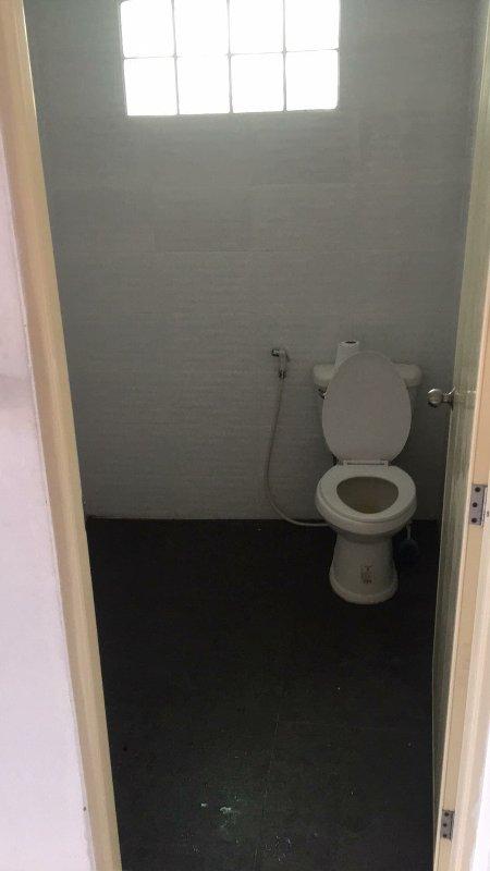 Toilette.