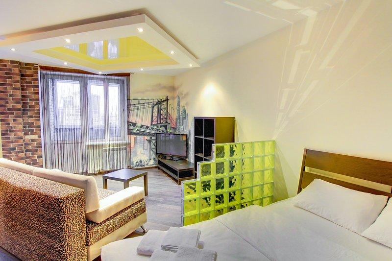 Apartment Shmidta 6, alquiler vacacional en Zheleznodorozhny