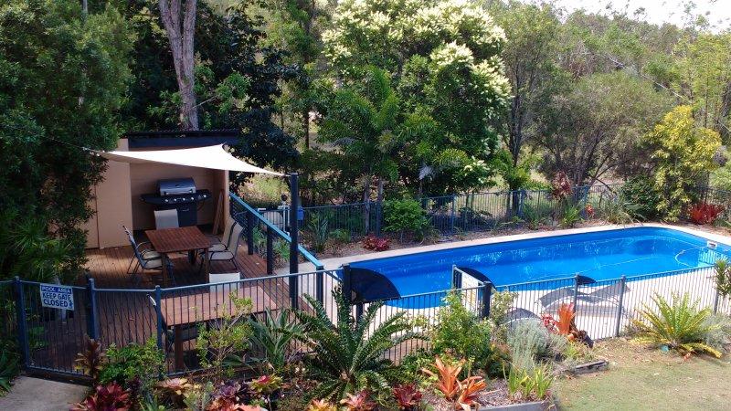 12 m swimming Pool & BBQ Deck at Yarrandabbi Dreaming