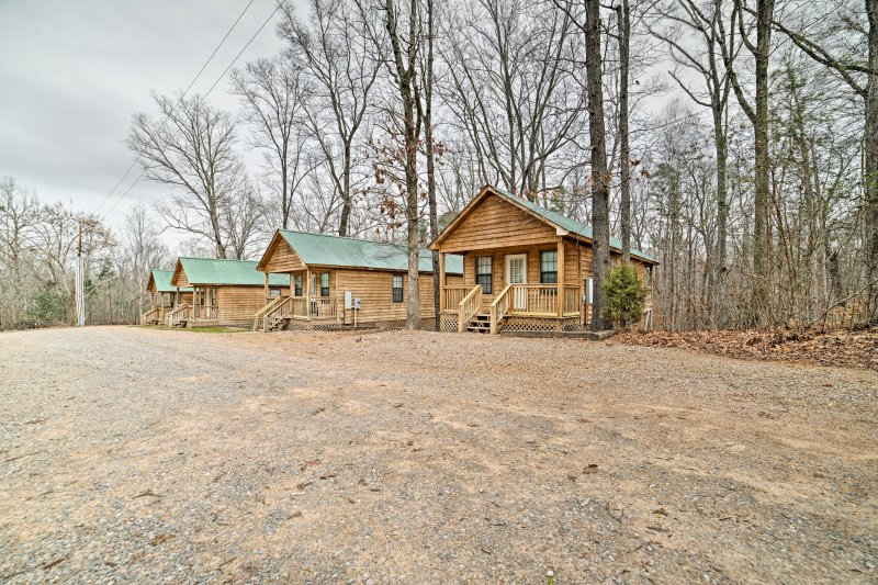 Three additional cabins are available to rent!
