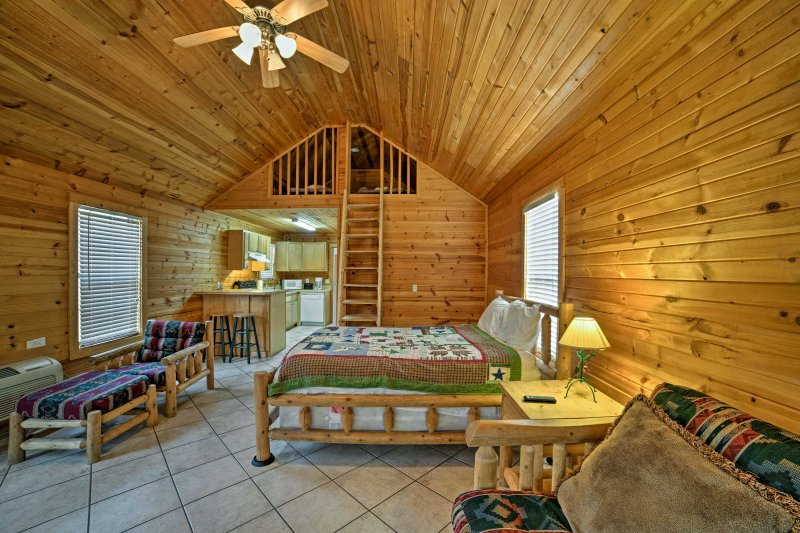 Six guests will be comfortably accommodated.