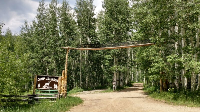 Entrance to Camp