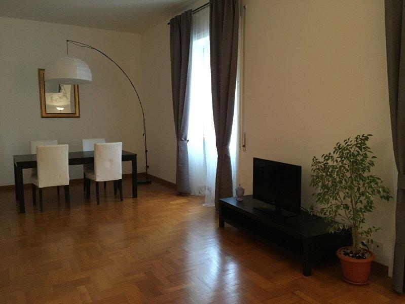 Very spacious apartment. Living room