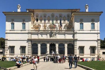 Villa Borghese. Borghese Gallery