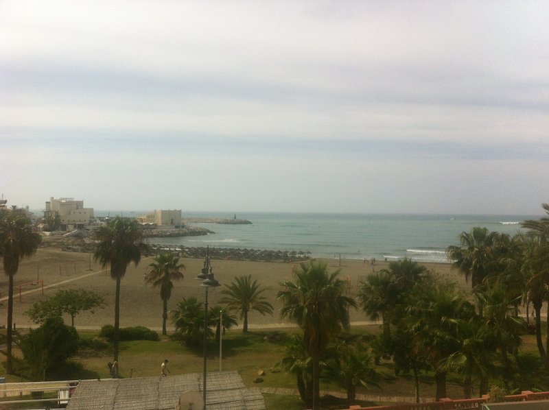 Beach front!