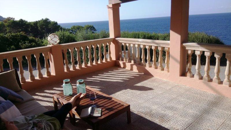 Can Llorens - a privilege on the seafront! (New), location de vacances à Estellencs