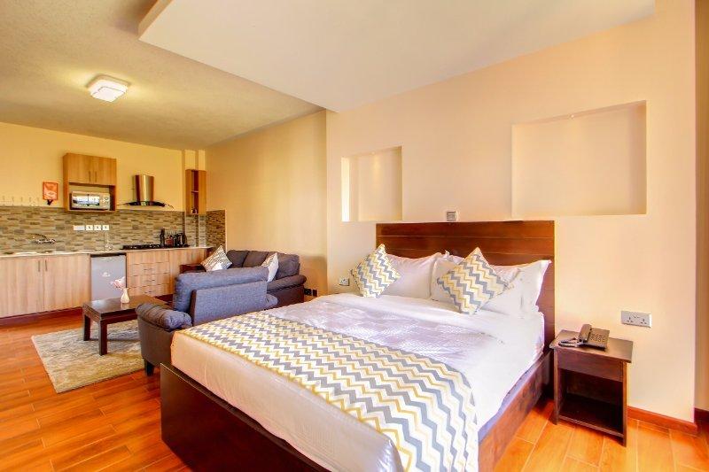 Highlands Suites Kilimani Studio Hotel Apartments, holiday rental in Nairobi