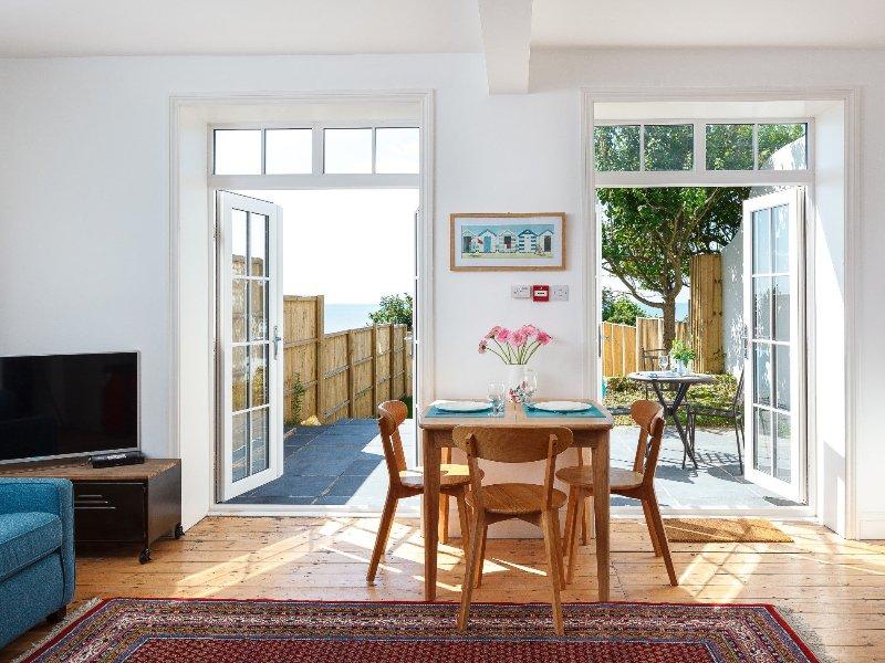 Open-plan sitting area