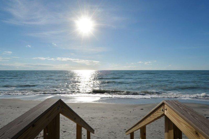 Étapes de la plage