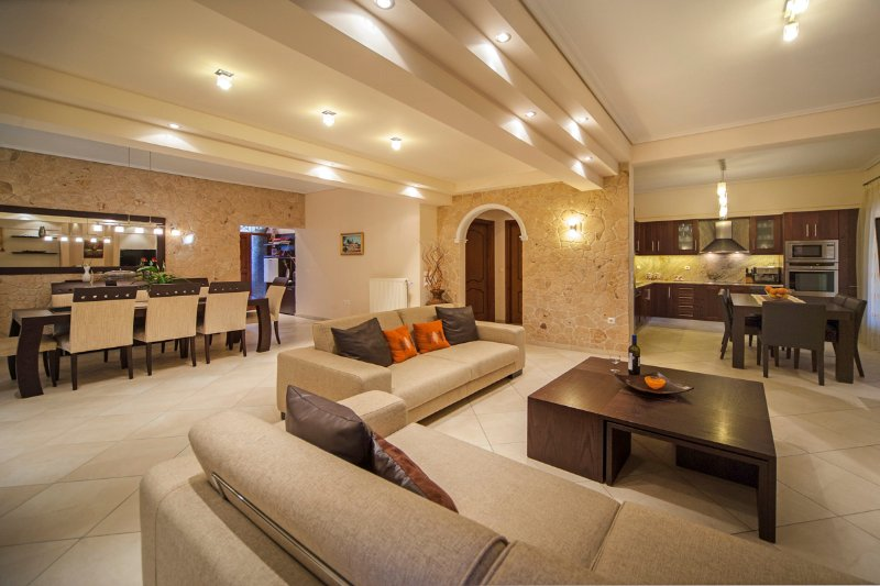 Agios Onoufrios Villa Sleeps 8 with Pool and Air Con - 5503424, holiday rental in Pelekas
