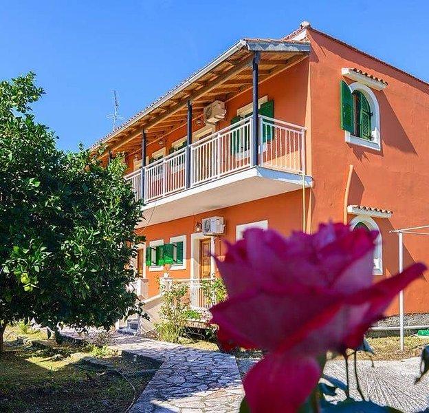 Nikos Apartment Sidari No4 , 160m from the beach, holiday rental in Corfu