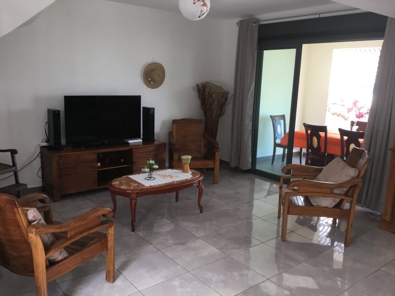 The lounge and veranda