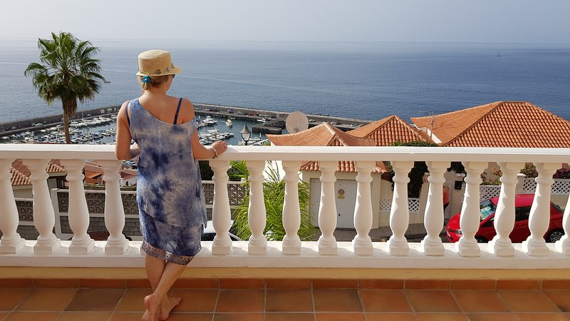 Amazing views from the terrace!
