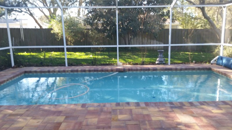 Modern Pool Home , with optional Pool Heat, holiday rental in Spring Hill