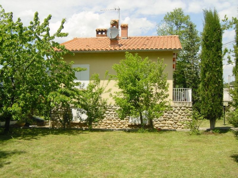 Villa Lokicor with garden, terrace, parking and stunning views.