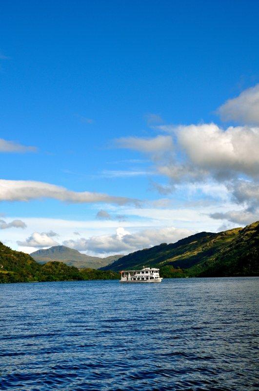 passeios de barco no Loch Lomond