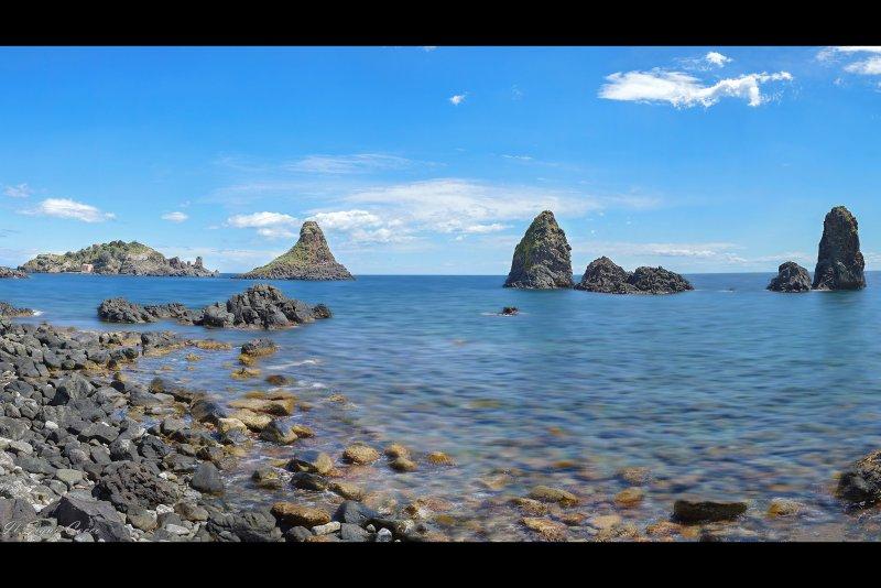 frente al mar, Aci Trezza