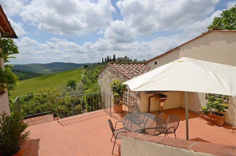 La Stella in Montefiorile, location de vacances à Lecchi in Chianti