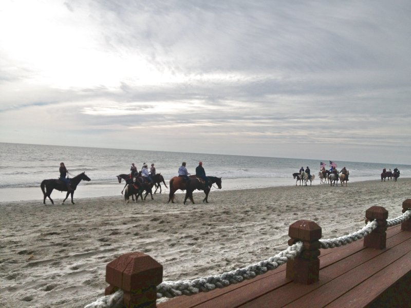 Horseback Riding on the Beach From Nov. 1st through Feb. 28th Horseback Riding of Myrtle Beach, LLC