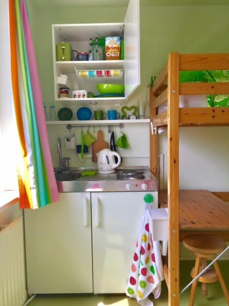 Your fully equipped kitchenette