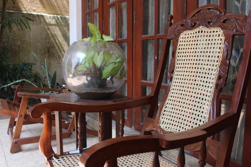 Pool view Room with kitchenette, alquiler vacacional en Kandana