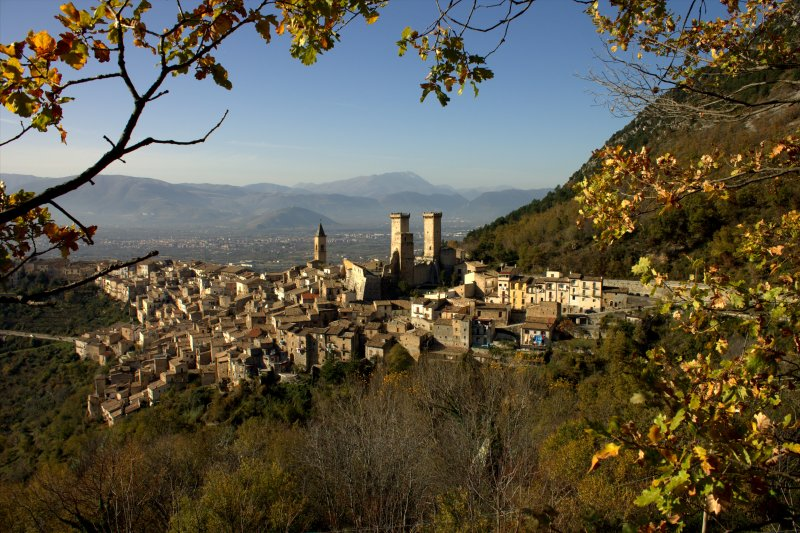 Pacentro, one of the most beautiful villages in Italy.