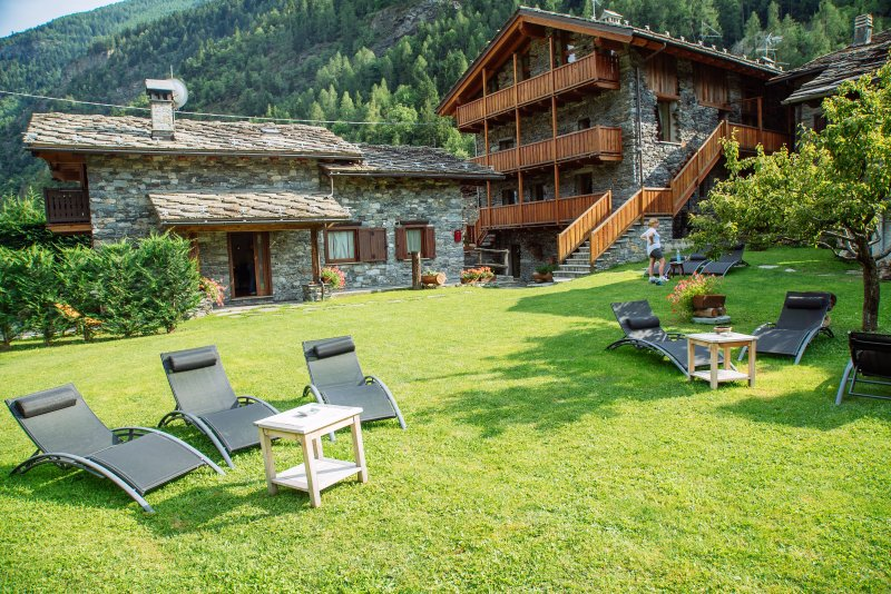 Relax area mountain Chalet Courmayeur