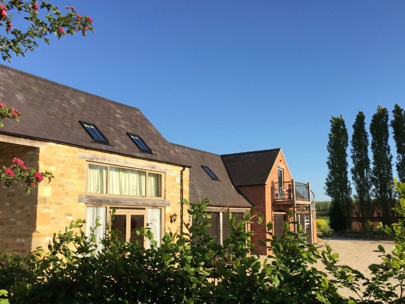 The Byre is one of 3 fully self contained cottages within the same group of buildings.