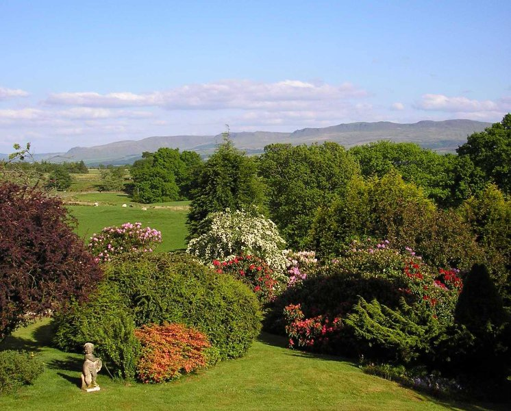 View from the Cottage of Campsie Hills