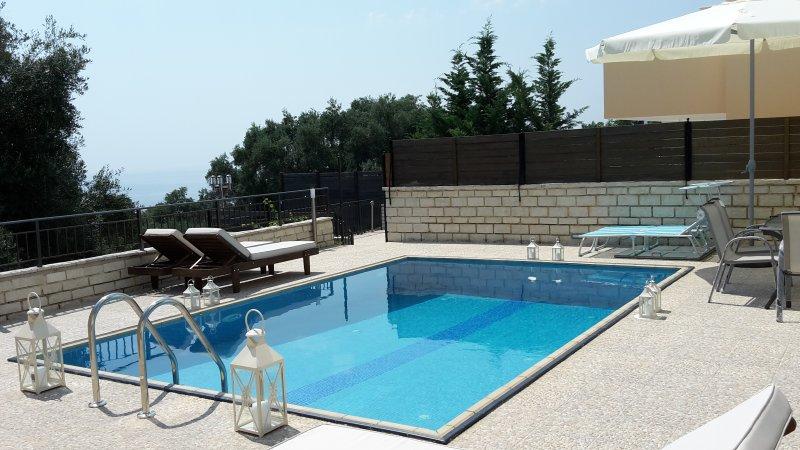 Achillion Luxury Corfu Villa, vacation rental in Perama