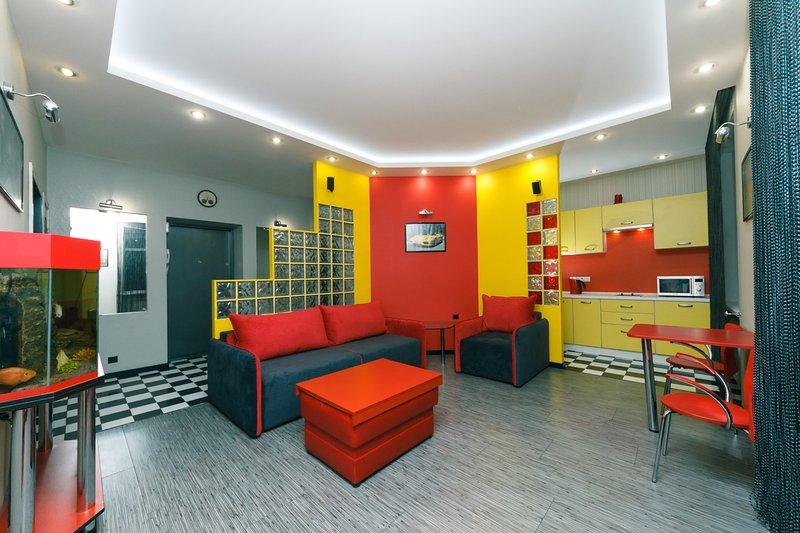 Two-room. Luxury. 17.Baseina Centre of Kiev, location de vacances à Kiev