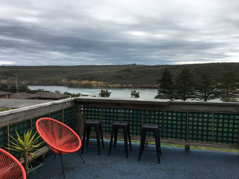 Balcony overlooking Port Campbell bay