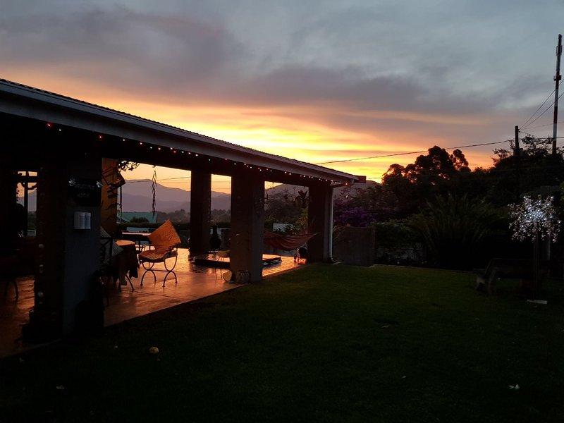 Laguna Lodge at Sunset