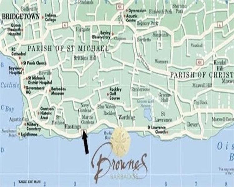 Brownes 2 Lit / 1 Bath Condo - Barbade