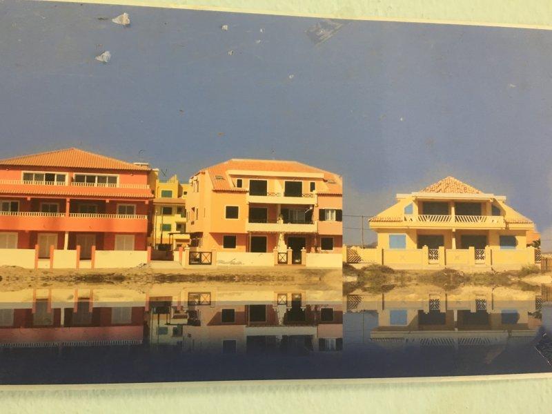 Blue Ocean Apartment Block, (centre showing top left penthouse)