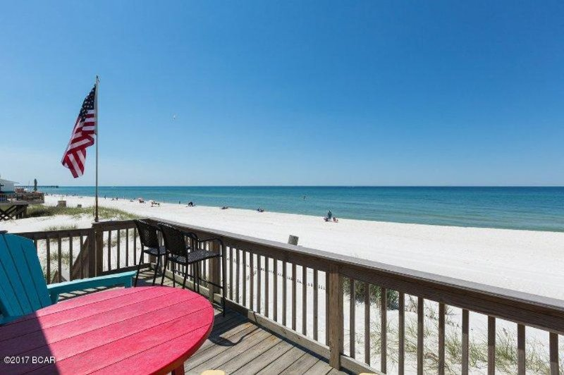 Directly on the Beautiful White Sand Beaches and Emerald Waters for your back yard paradise!
