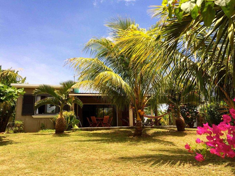 Belle villa au coeur d'un petit village de pêcheur, vacation rental in Riviere du Rempart District