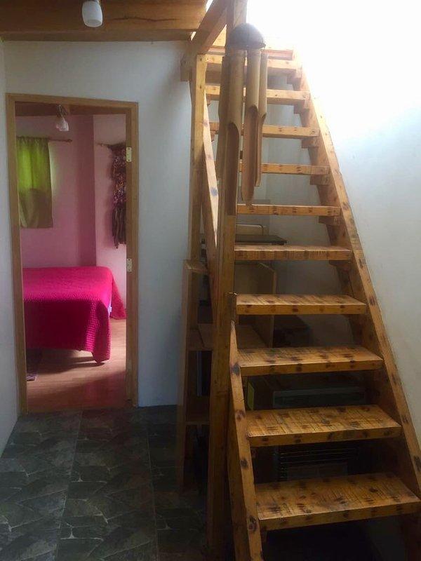 deux étages cabine au deuxième niveau deux dormitor plus