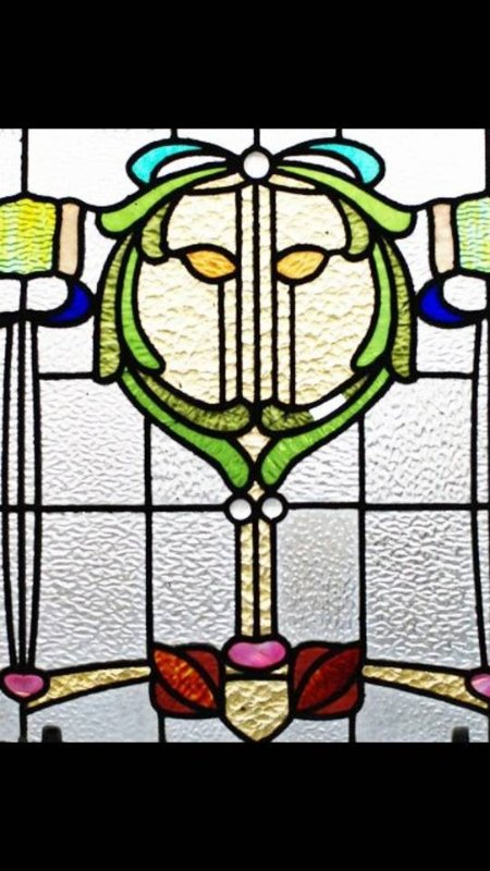 Original feature early 19th century stain glass