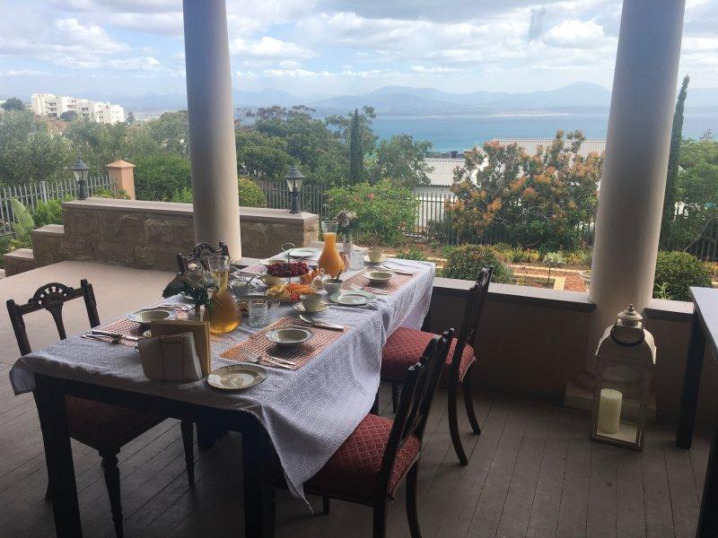 Desayuno con una vista