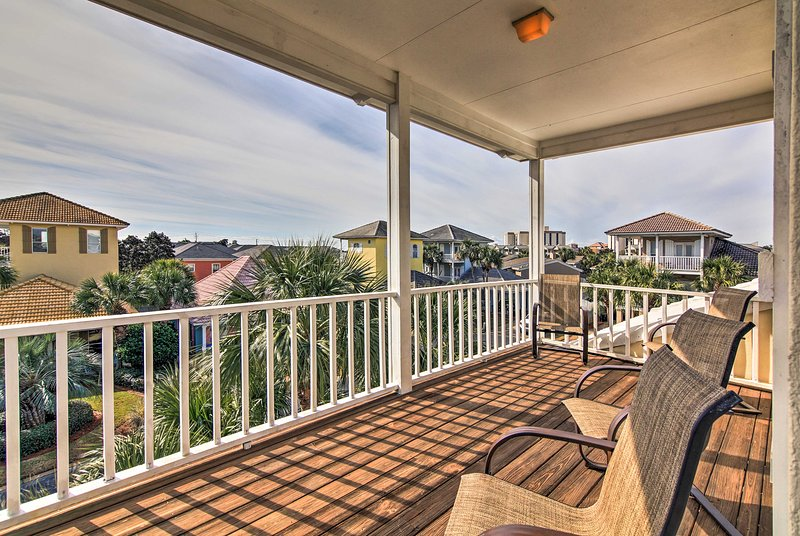 Relax at Emma's Estate, an incredible Destin vacation rental house.