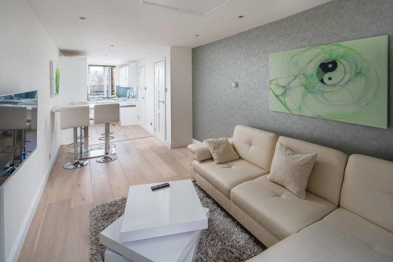 Luz amplia sala de estar