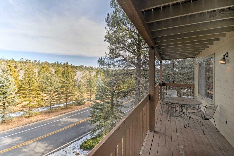 Explore northern Arizona from this Flagstaff vacation rental condo.
