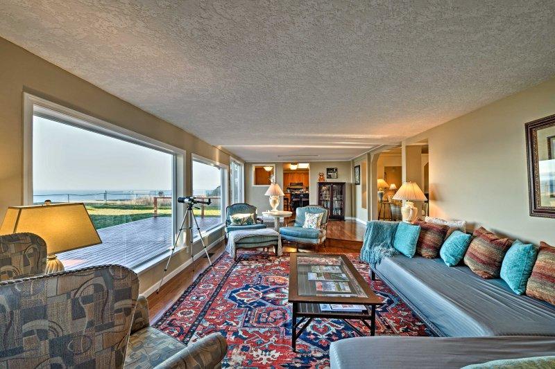 Longa-view janelas dão lugar a pontos de vista milagrosas!