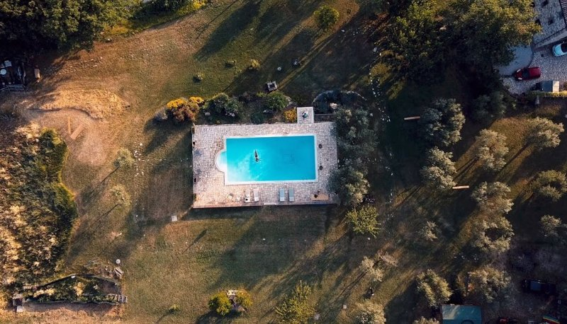 Historic Manor & Pool in Organic Olive Estate - Billiards& Piano, 1 hr from Rome, holiday rental in Pozzo Ciolino